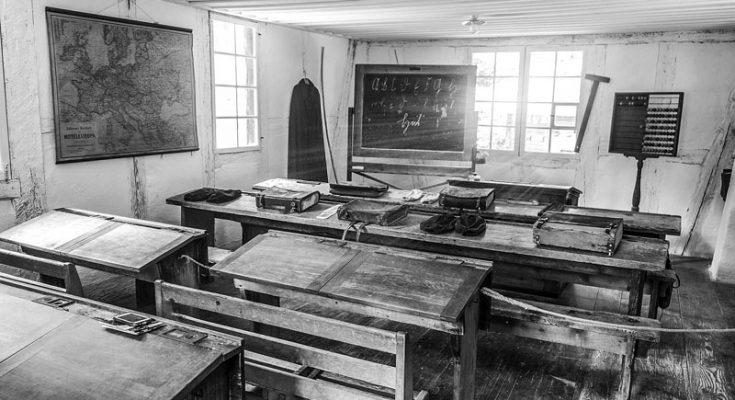 Historischer Klassenraum
